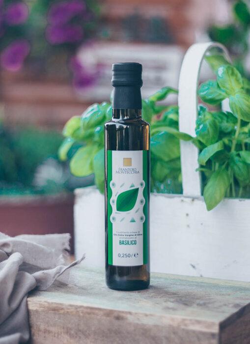 Frantoio-Montecchia-basilico-condimenti-oli-aromatizzato-Olio-Extra-Vergine-Morro-D'Oro-Teramo-Abruzzo-cucina