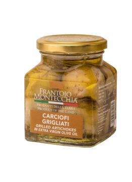 Frantoio-Montecchia-Olio-Extra-Vergine-carciofi-grigliati-Morro-D'Oro-Teramo-Abruzzo-Eccellenza