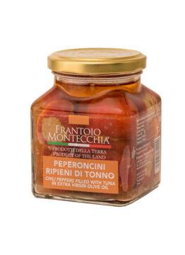 Frantoio-Montecchia-Olio-Extra-Vergine-peperoncini-ripieni-di-tonno-Morro-D'Oro-Teramo-Abruzzo-Eccellenza